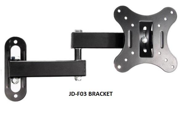 Giá treo tường màn hình Game JD-F03 xoay 180 độ (14-27inch)